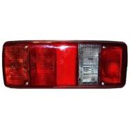 5-komorové  svetlo ľavé+osvetlenie ŠPZ MAN