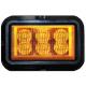 LED výstražné svetlo oranžové